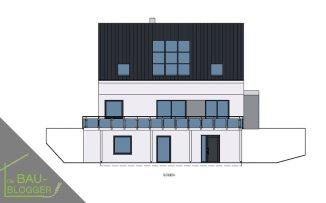 Architektur und Licht - Zeichnung Süd 2