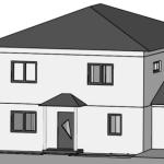 Haus Ost Ansicht