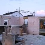 2015-09-10 Erdgeschoss und Garage Fundament