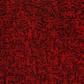 Este ejemplar de textil Jalq´a se encuentra en el MUSEF - Museo de Etnografía y Folklore de La Paz - www.musef.org.bo