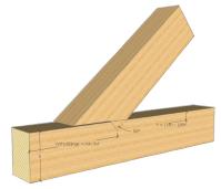 Holzbalken verbinden: 12+ solide Techniken  BAUBEAVER