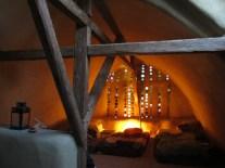 Virtuelle Baustelle: Strohballengewölbe - Gästeraum