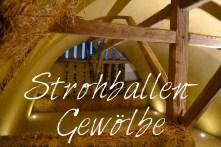 Workshop Strohbau Strohballenbau Gewölbe