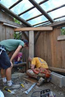 Off grid Tiny House Straw Bale
