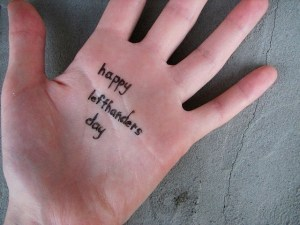 Happy National Left-Handers Day!