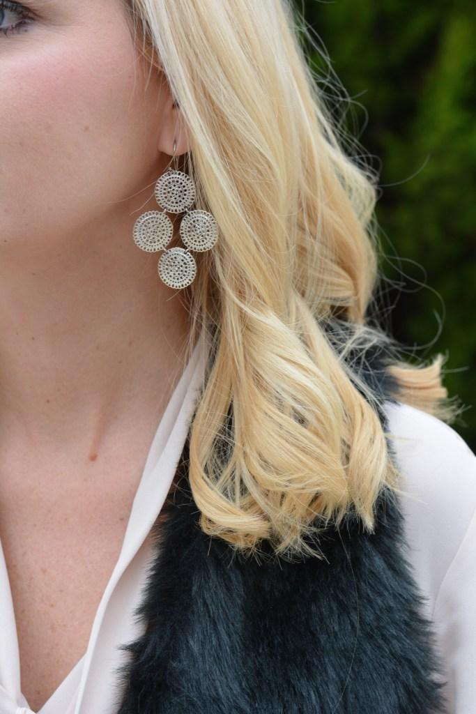 Earrings: Stella & Dot | Medina Chandeliers | Click here to shop