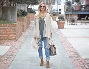 The perfect tunic and cardigan combo