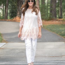 All the Lace from Anthropologie