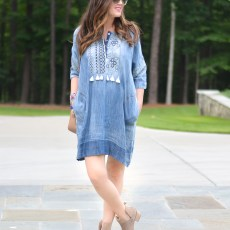 Chambray and Fringe