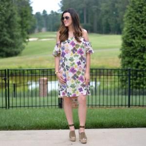 Florals Dresses for Daytime