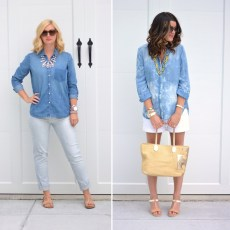Chambray for Casual Looks