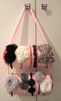 DIY headband holder | Baubles & Babbles