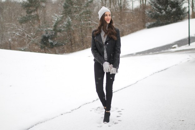 Edgy Winter Outfit Ideas