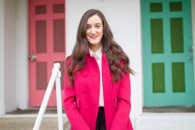 Hot Pink coat