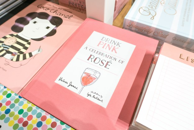 Pink Coffee Table Book
