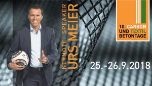 10. Carbon- und Textilbetontage - Keynote Speaker Urs Meier