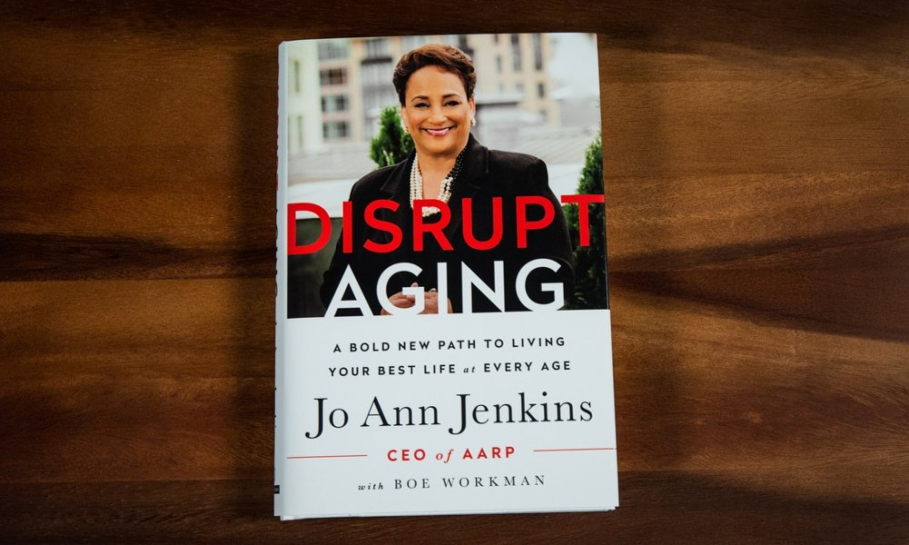 picture of disrupt aging book