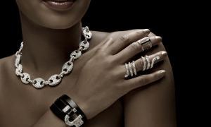 Woman wearing jewelry
