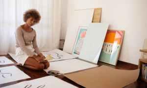 Black female artist