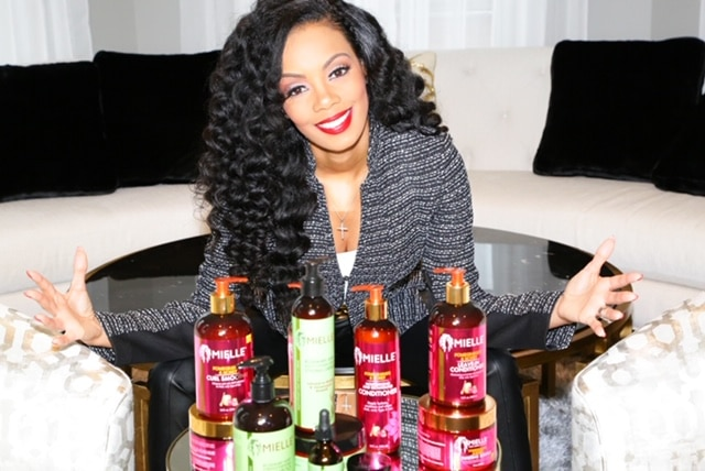 Mielle Organics founder and ceo Monique Rodriguez smiling