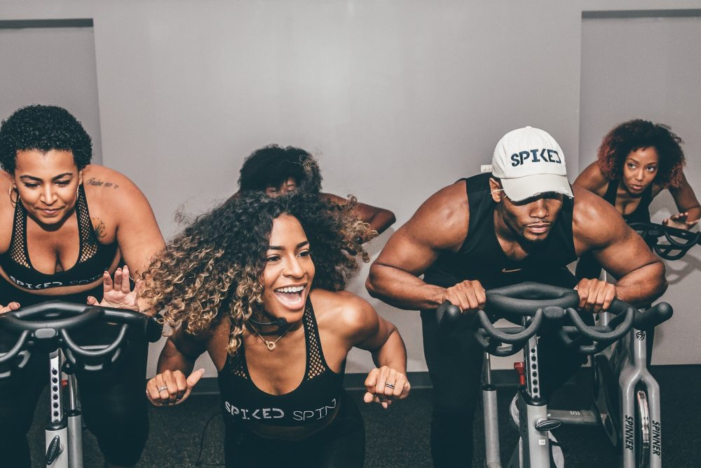 spiked spin founder briana owens teaching class