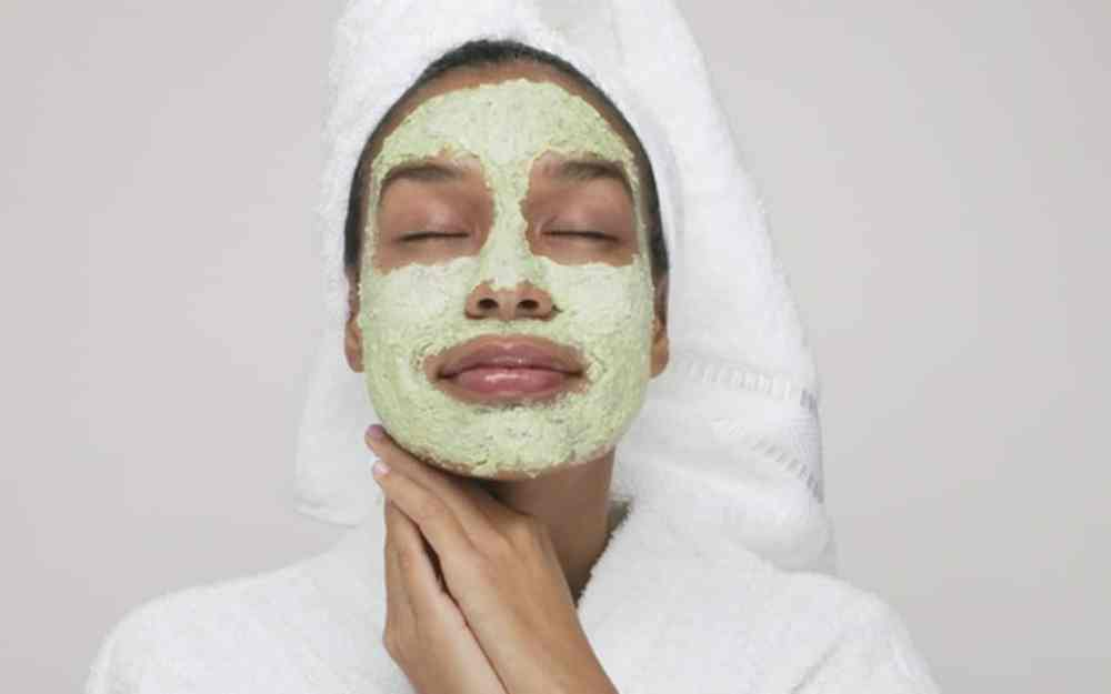black woman facial