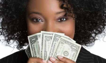 frugal black woman