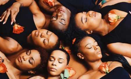 Group of black women @bxndanas