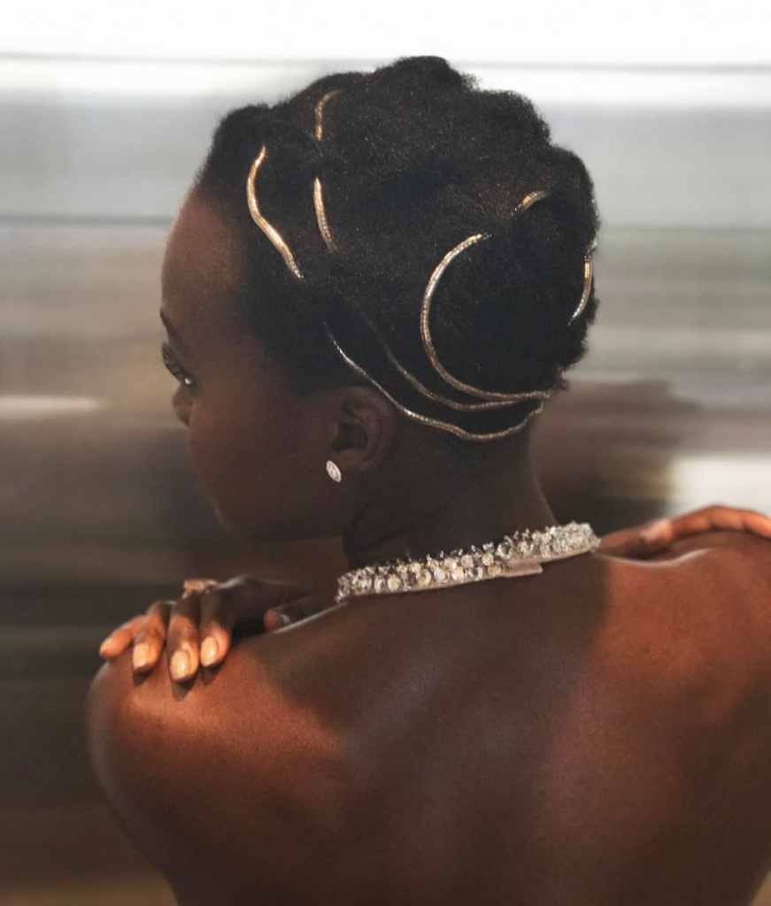 Lupita With hair styled by vernon francois