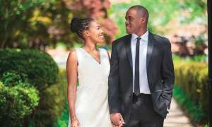wedding black couple
