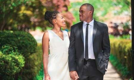 wedding black couple