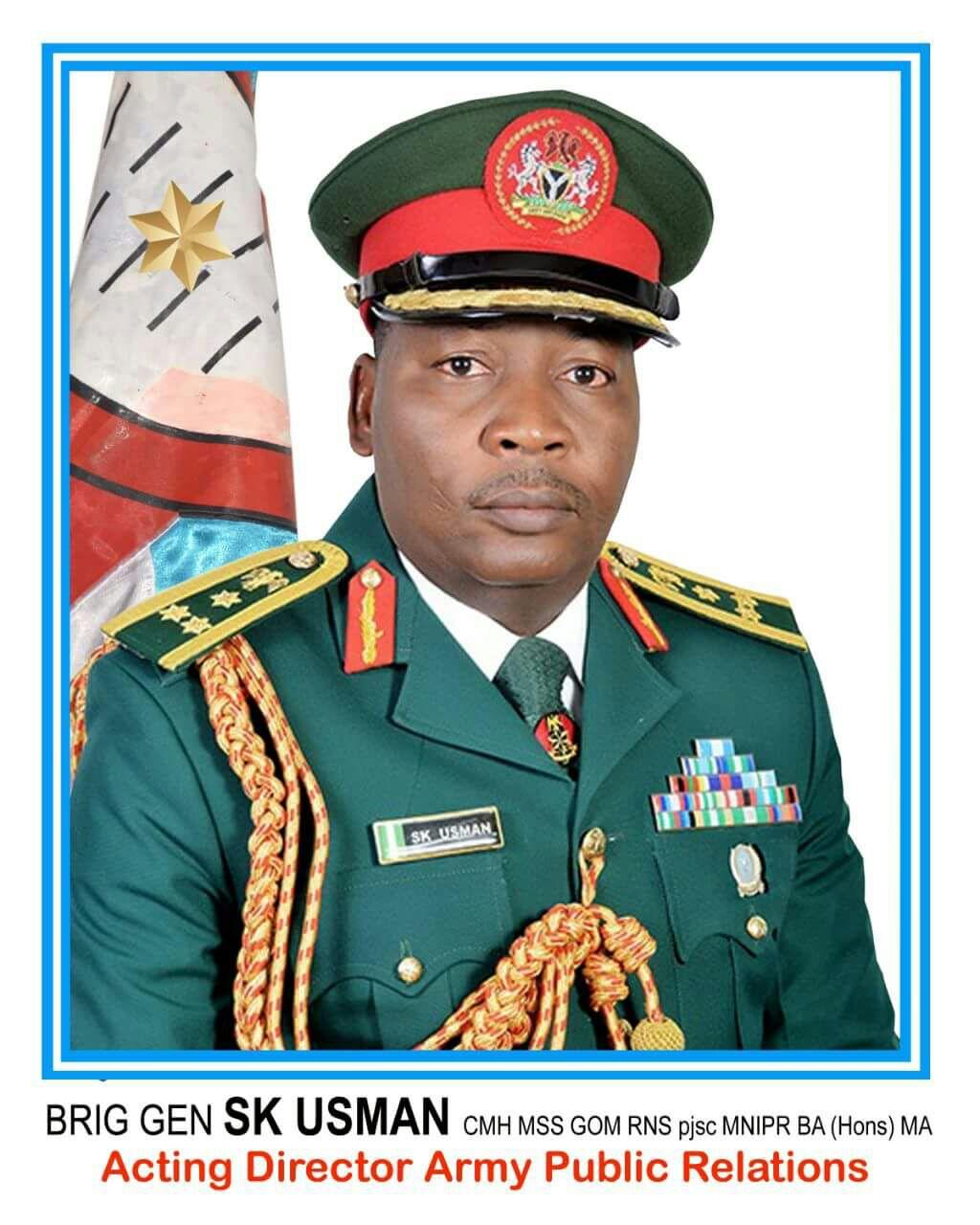 Brigadier Sani Kukasheka Usman, Army Spokesperson