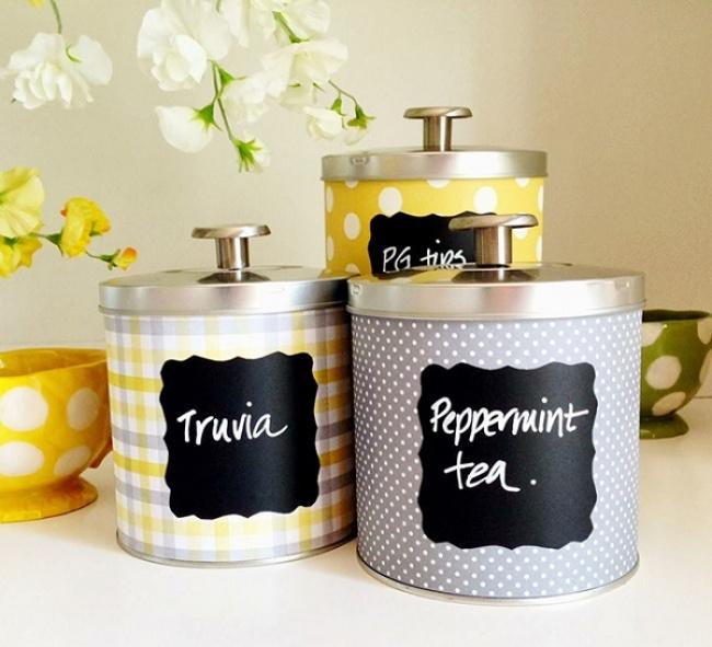 Transforme latas em lindos objectos de decoração