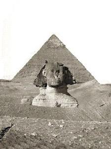 Qui A Construit Les Pyramides : construit, pyramides, Egypte, Sphinx, Pyramides, Gizeh