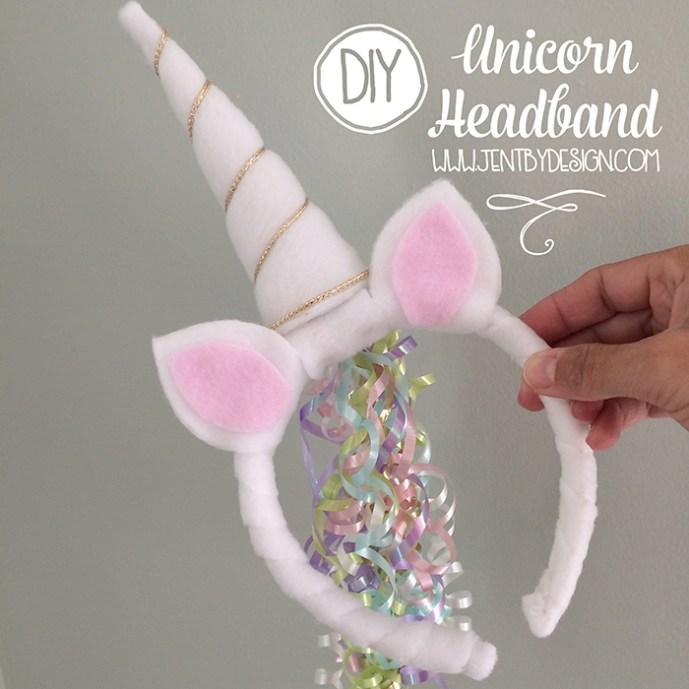 tiara para carnaval unicórnio