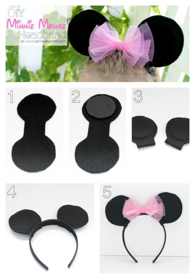 Hacer Mouse Minnie Como Invitaciones Shower De Para Baby