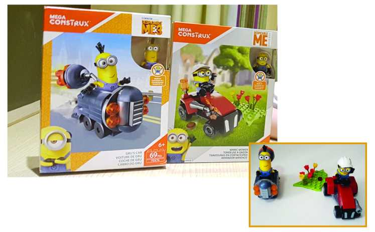 blocos para montar Mattel Mega Construx Meu Malvado Favorito 3