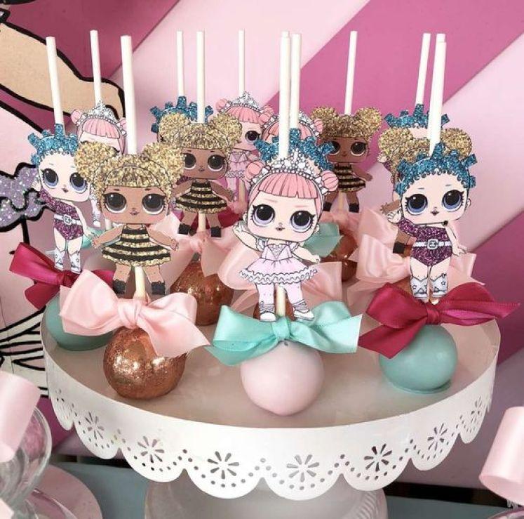 decoração festa LOL Surprise