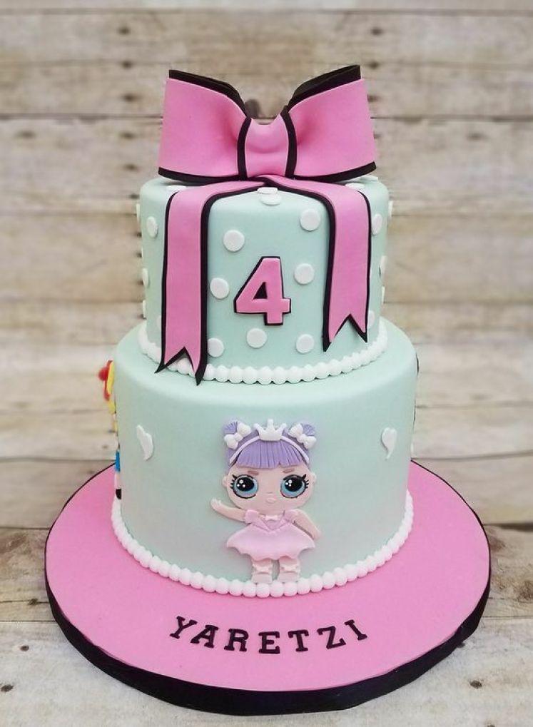 bolo festa LOL Surprise