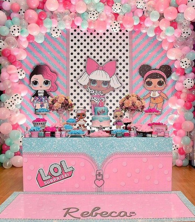 Festa lol surprise inspira es para encantar ba de menino - Monalisa moda infantil ...