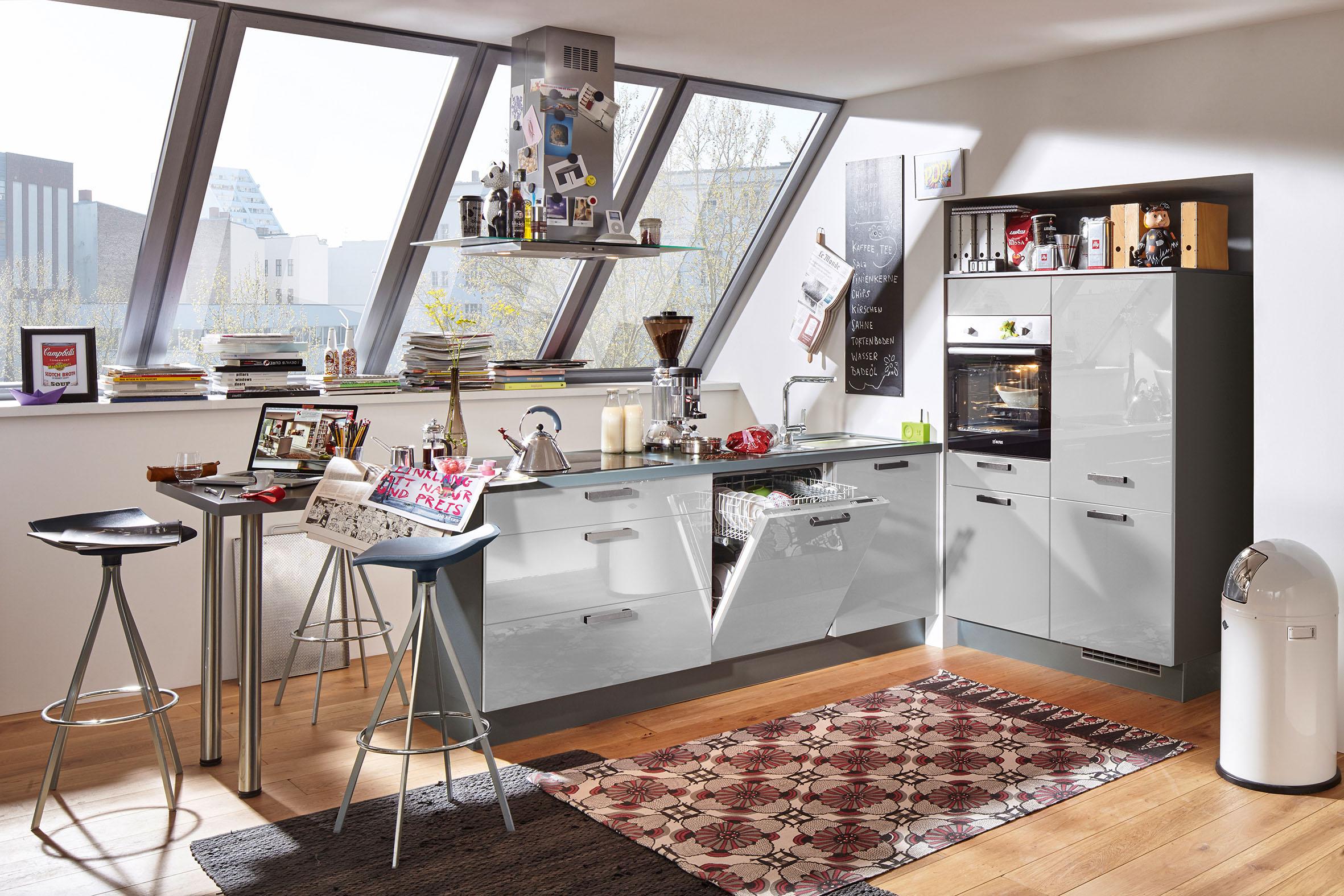 Viel Küche auf wenig Raum