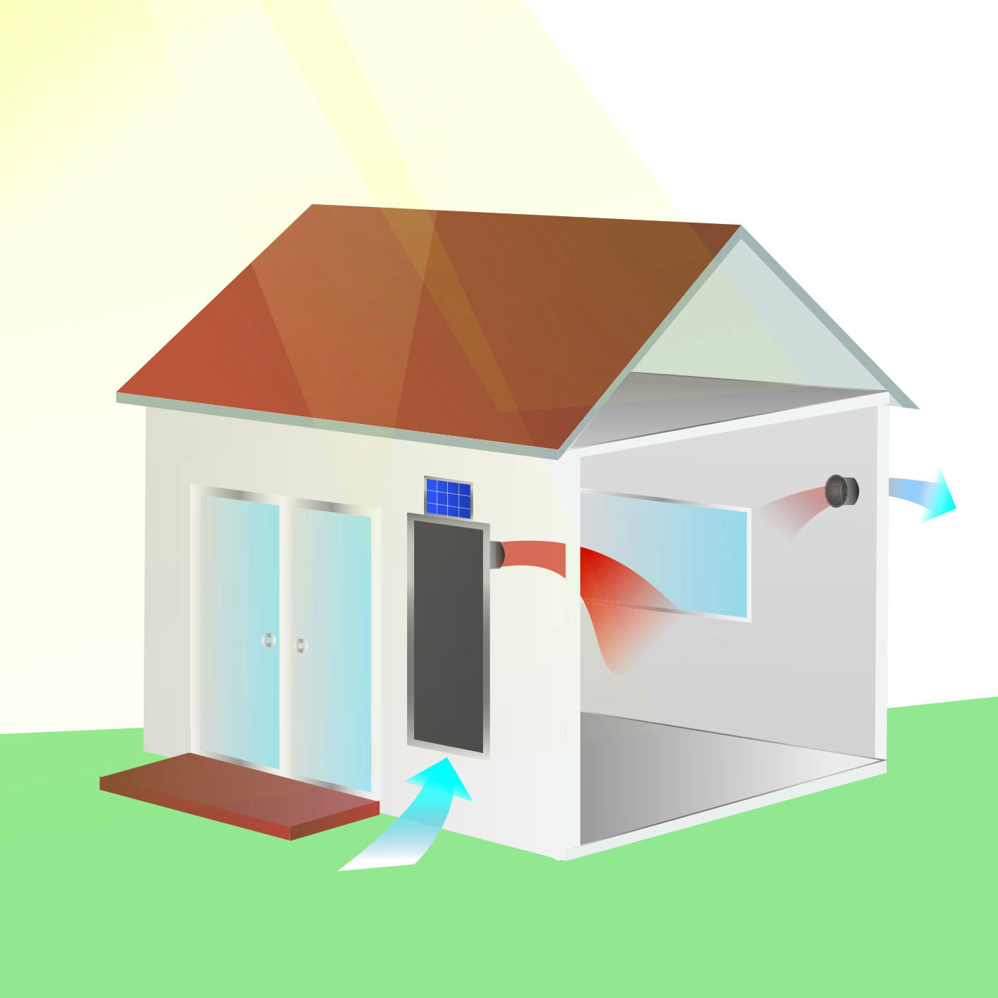 Raumklima im Tiny House