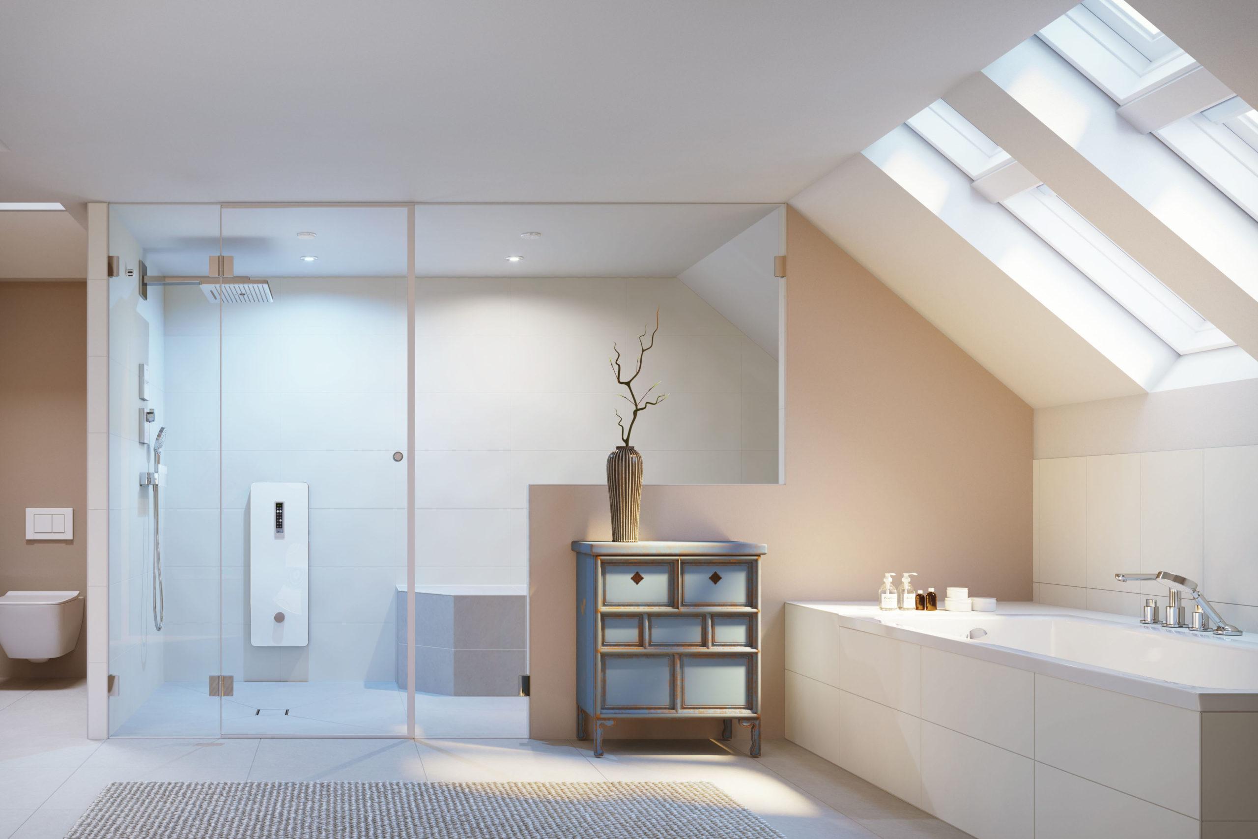 Dampfkabine für das eigene Dampfbad im Badezimmer