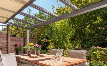 Glasdach als Alternative zum Wintergarten