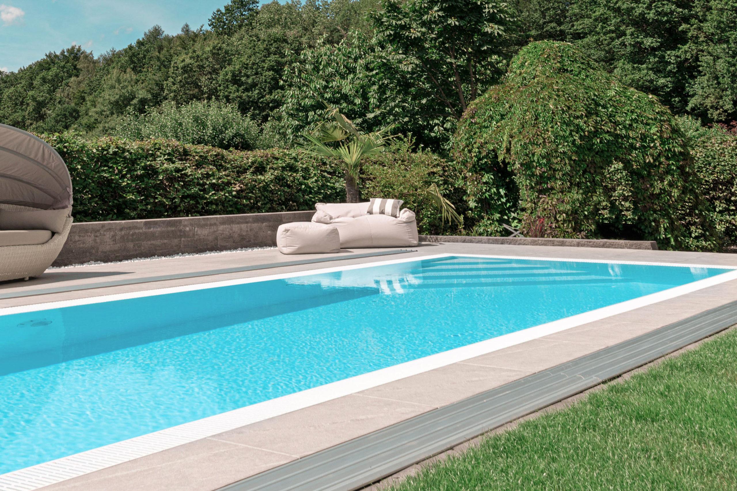 Ein Pool sorgt für Mehrwert