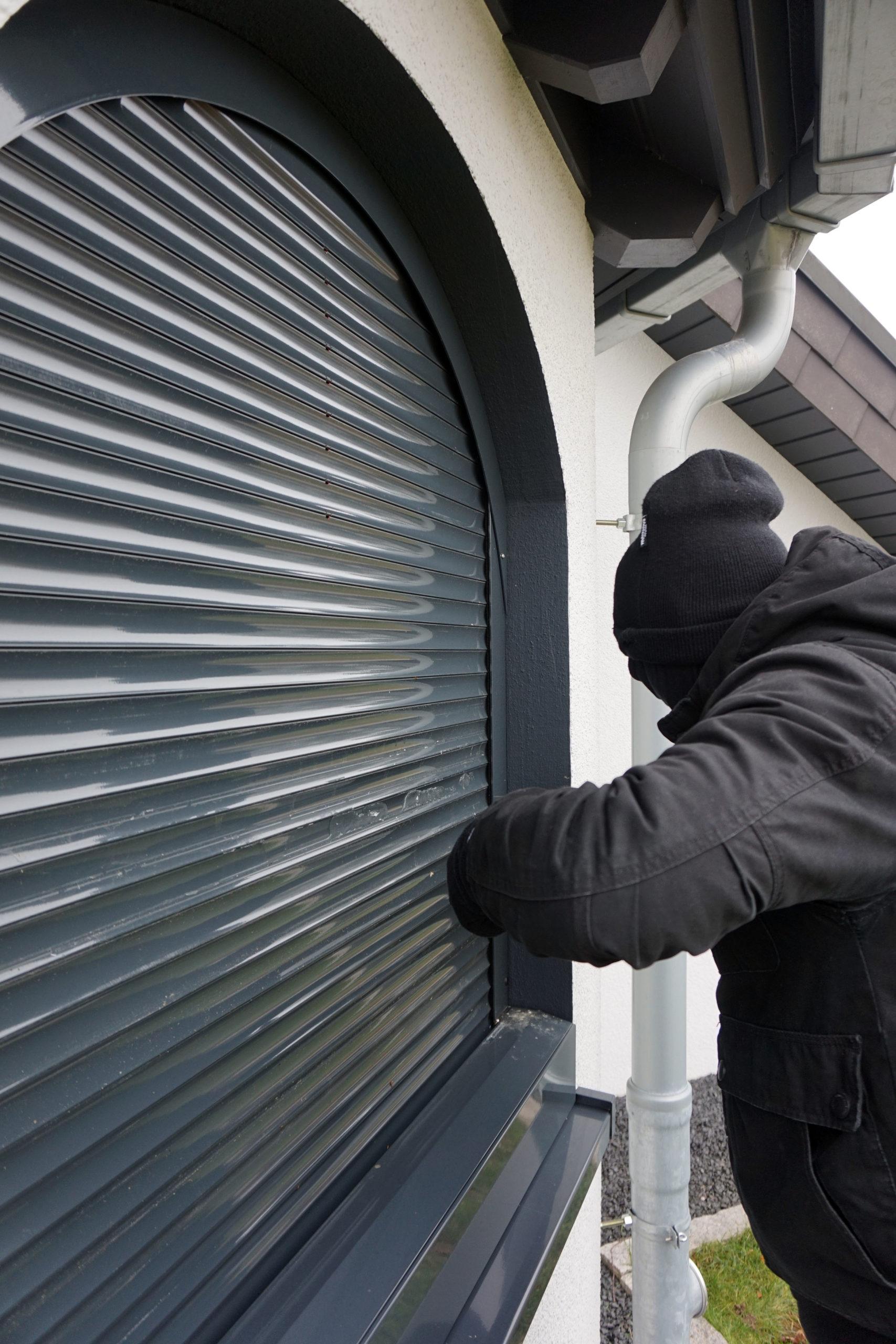 Intelligenter Sonnenschutz gegen Einbrecher