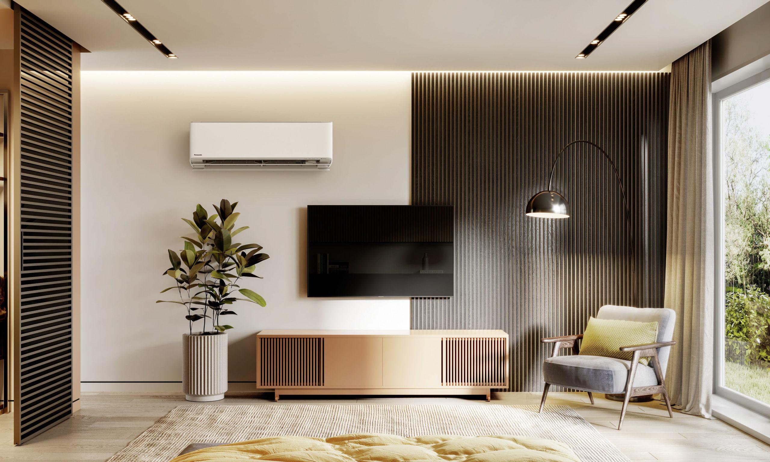 Heizen und kühlen mit energiesparender Technik