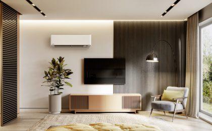 Klimaanlagen können auch Heizen