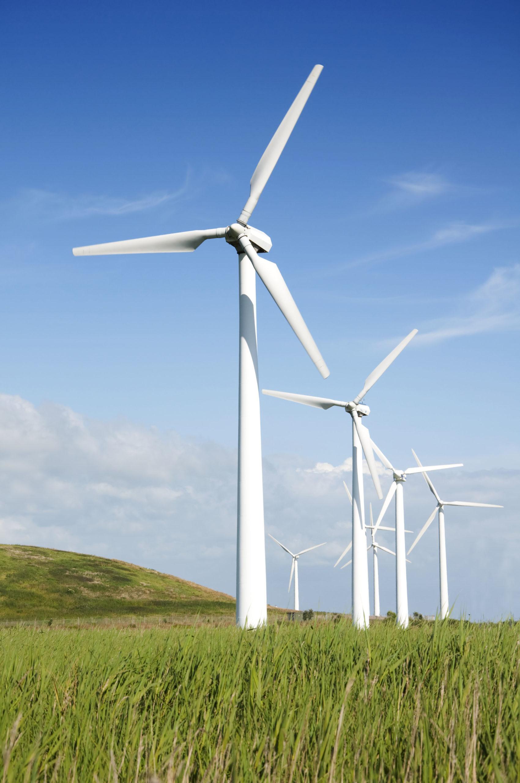 Windräder erzeugen Ökostrom