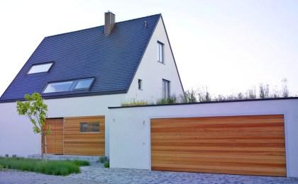 Haus aus Ziegelmauerwerk